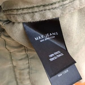 Max Jeans Jackets & Coats - Max Jeans Army Green Vest